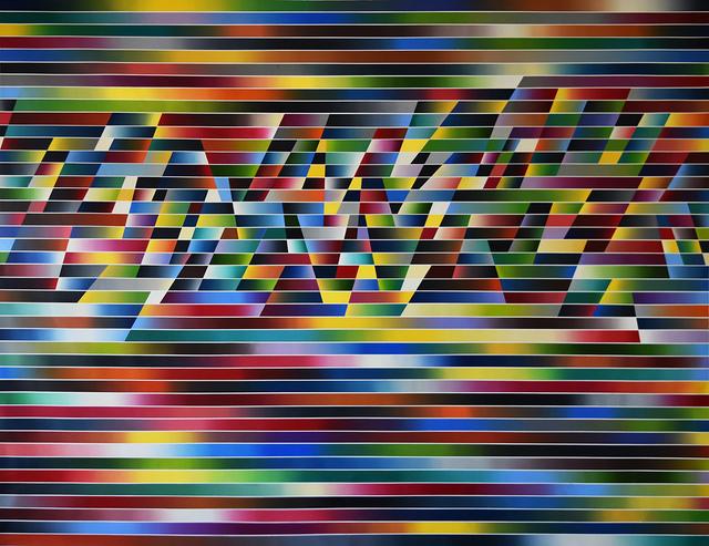 , 'Velocidad con cortes,' 2016, Vasari
