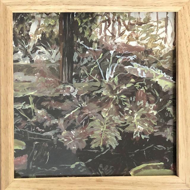 Isabella Kuijers, 'Kew III', 2019, Painting, Acrylic on glass, 99 Loop Gallery