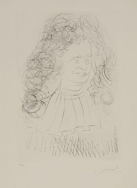 Salvador Dalí, 'Le Portrait De La Fontaine', 1974, Sworders