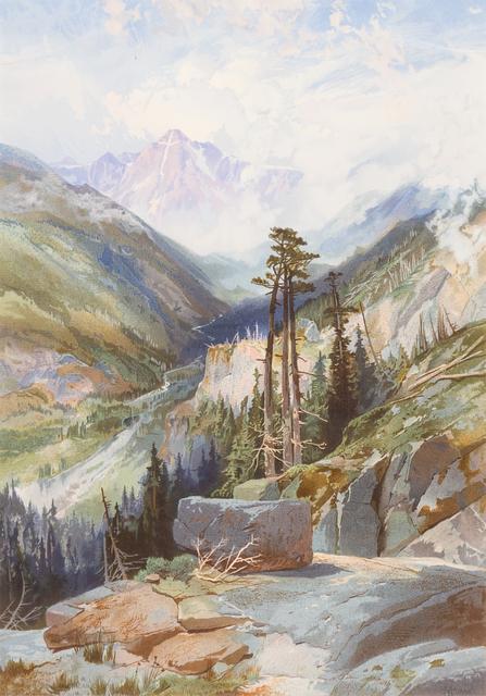 Thomas Moran, 'The Mountain of the Holy Cross, Colorado', c. 1876, Hindman