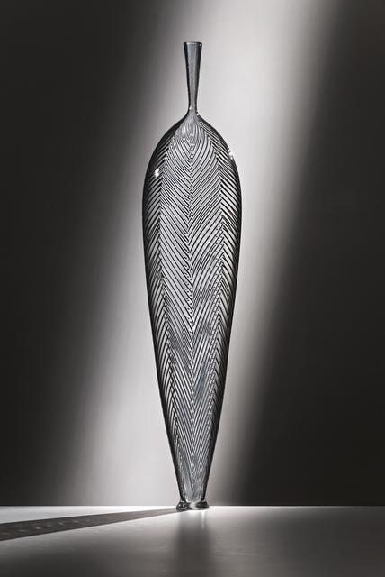 , 'WHITE IN BLACK Z LEAF,' 2015, Traver Gallery