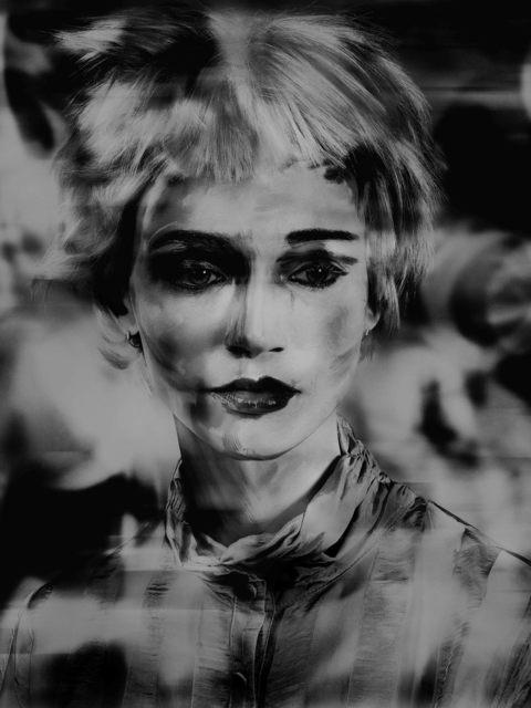 , 'Lady_Shadow (Painted Ladies),' 2017, Galerie Nathalie Obadia