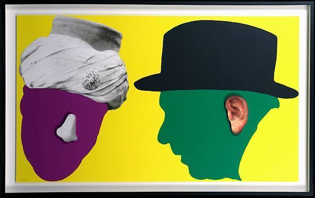 , 'Noses & Ears,' 2006, Posner Fine Art