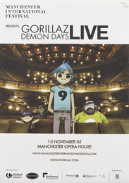 Gorillaz Demon Days Live Programme