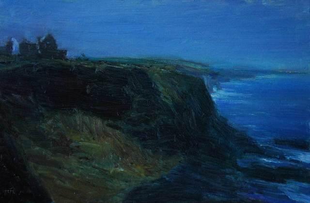 , 'Twilight, Dunluce Castle,' 2015, Mall Galleries