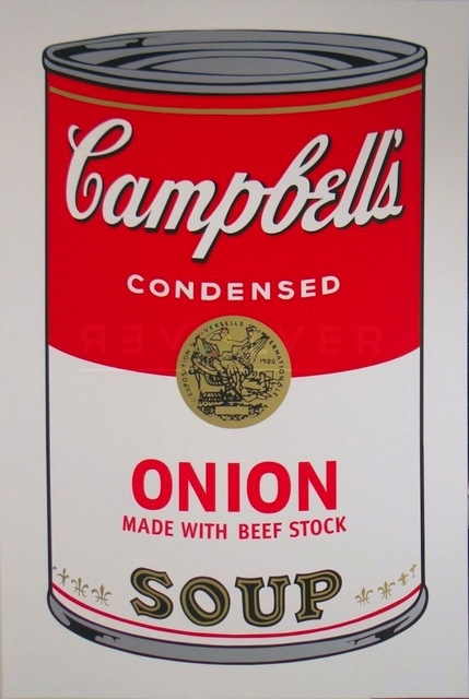 Andy Warhol, 'Campbell's Soup I: Onion (FS II.47)', 1968, Revolver Gallery
