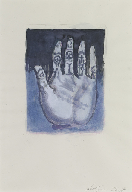 Luc Tuymans, 'The Spiritual Exercises 2', 2007, Drawing, Collage or other Work on Paper, Watercolour on paper, Zeno X Gallery