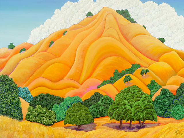 , 'Golden Hill,' 2003, ACA Galleries