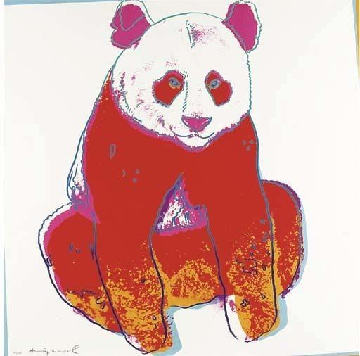 Andy Warhol, 'ENDANGERED SPECIES: GIANT PANDA FS 11.295 BY ANDY WARHOL', 1983, Marcel Katz Art