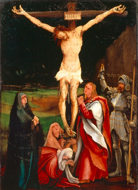 , 'The Crucifixion of Christ,' 1515, Kunstmuseum Basel