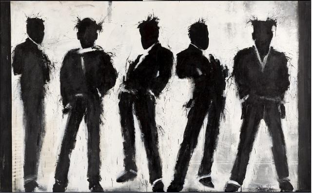 , 'Shadow Figures,' , Maddox Gallery