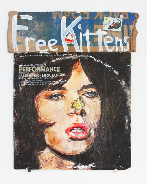 , 'Pretty Mick Jagger and Free Kittens ,' 2014, DENK Gallery