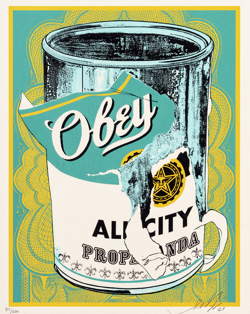 Shepard Fairey, 'Soup Can II', 2009, Tate Ward Auctions