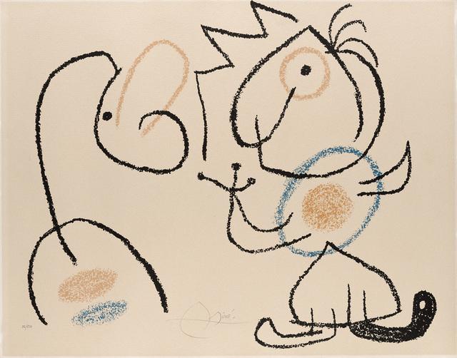 Joan Miró, 'Ubu aux Baleares', Il Ponte
