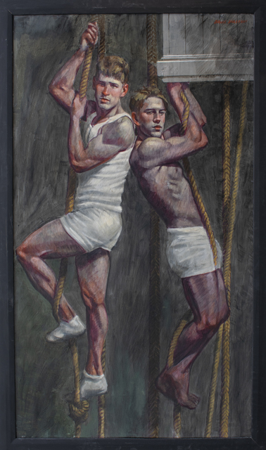 , 'Boys on Ropes,' date unknown , Carrie Haddad Gallery
