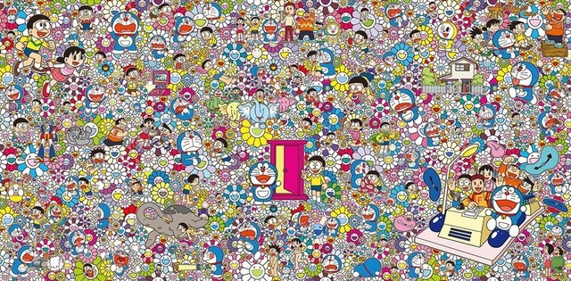 Takashi Murakami, 'Wouldn't it be nice if we could do such a thing?', 2019, Vogtle Contemporary