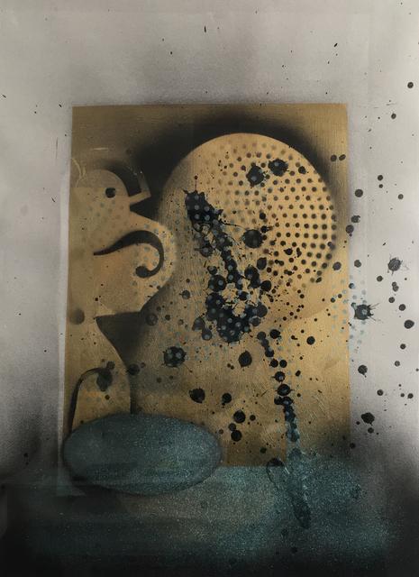 , 'Ellipse With Gold,' 2016, J. Cacciola Gallery
