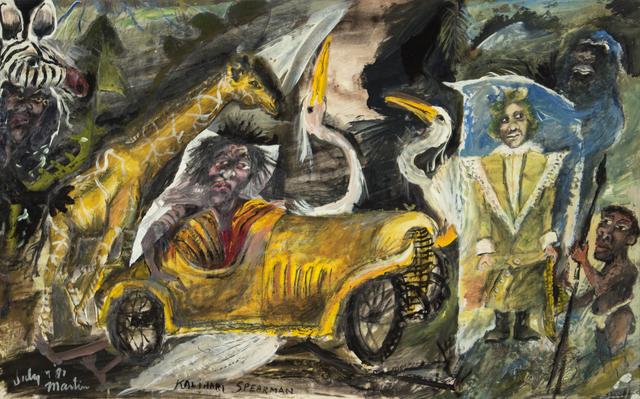 James Martin, 'Kalihair Spearman', 1981, Foster/White Gallery
