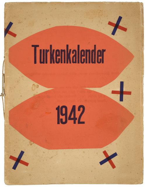 Hendrik Nicolaas Werkman, 'Turkenkalender (M.HP 41 - 99)', 1942, Galerie Natalie Seroussi