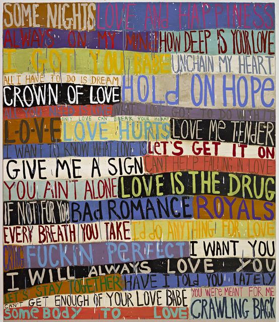, 'Love,' 2014, James Harris Gallery