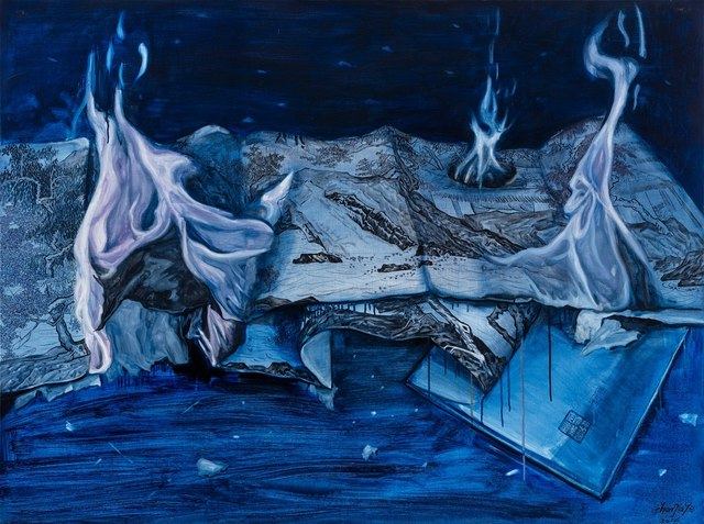 , 'Burn No. 2,' 2016, Red Gate Gallery