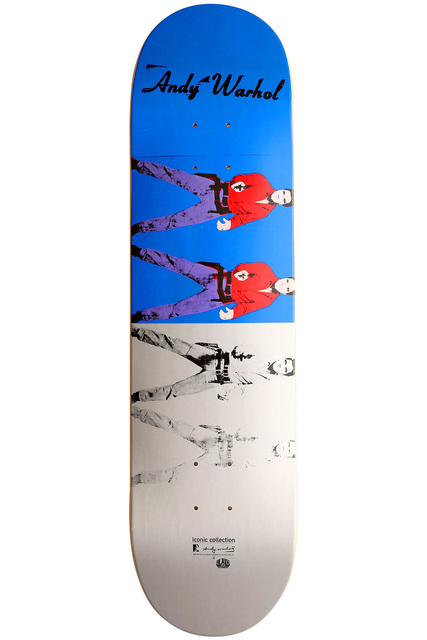 Andy Warhol, 'Warhol Elvis Skateboard Deck ', 2012, Lot 180
