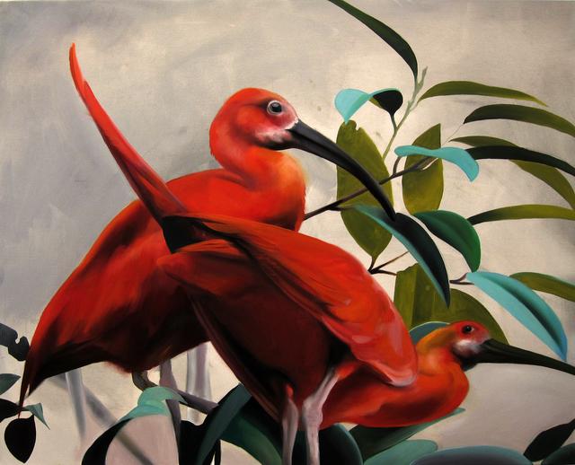 , ' Scarlet Ibis,' 2015, Victor Lope Arte Contemporaneo