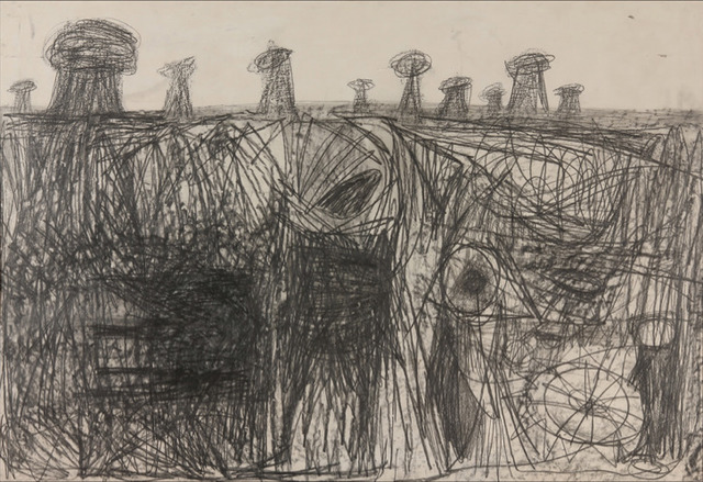 , 'October Drawing,' 1955, Brian Gross Fine Art