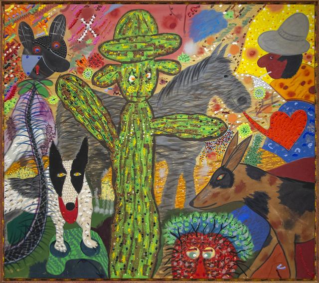 Roy De Forest, 'Desert Serenade', 1982, Heather James Fine Art