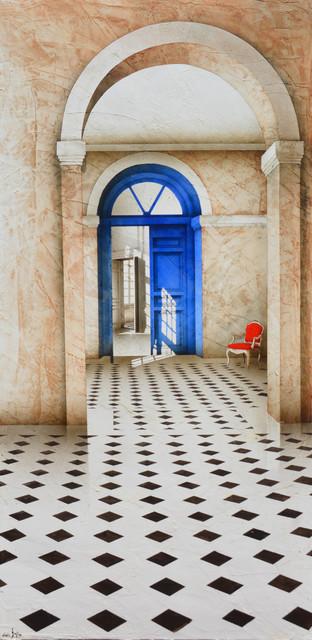 Alain Gazier, 'Porte bleue', 2018, Guarisco Gallery