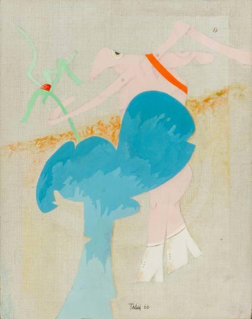 Emilio Tadini, 'Personaggio in un giardino', 1966, ArtRite