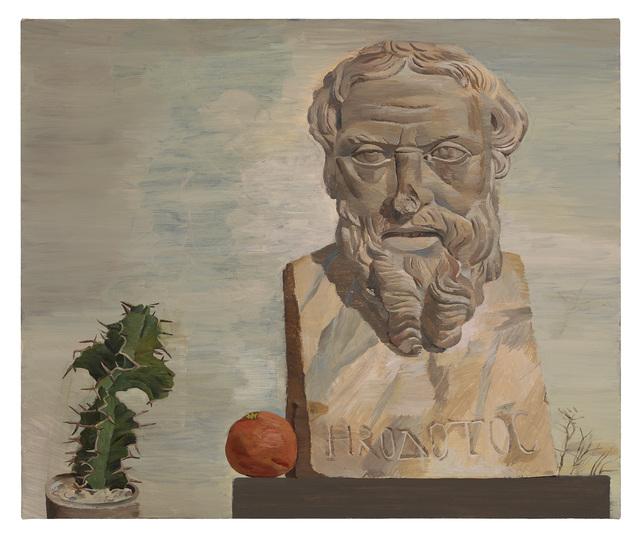 , 'Bust of Herodotus (Met Museum),' 2019, Diane Rosenstein
