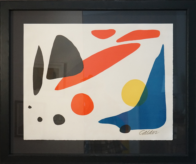 , 'Composition (Blue Boomerang with Red, Black and Yellow Shapes),' 1962, Pascal Fine Art