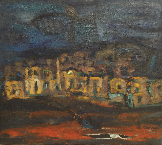, 'Palestinian Village,' 1992, Gallery One