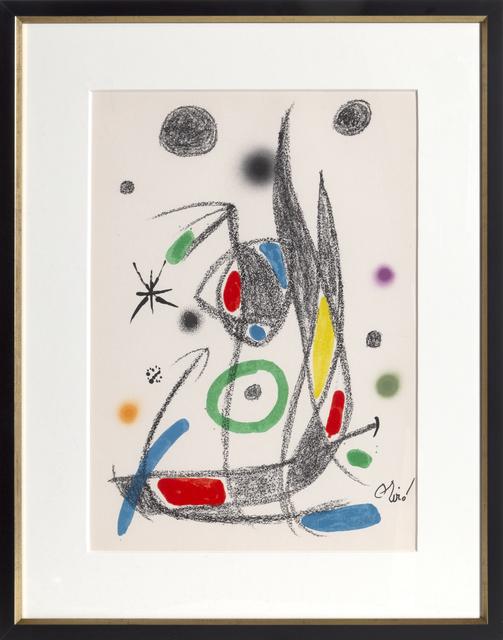 Joan Miró, 'Maravillas con Variaciones Acrosticas en el Jardin de Miro, Number 16', 1975, RoGallery