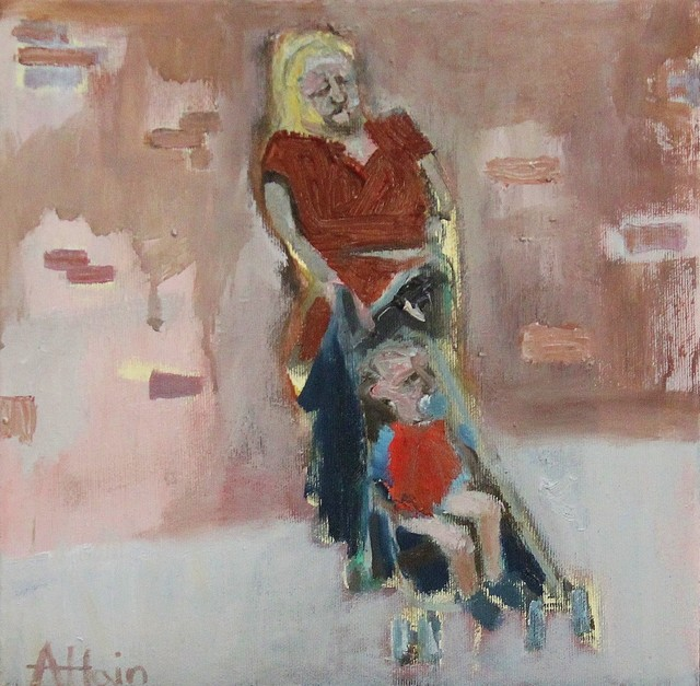 , 'Afternoon stroll,' 2018, Castlegate House Gallery
