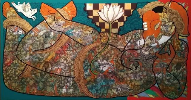 Ramesh Gorjala, 'Ganesh', 2018, Art Pilgrim