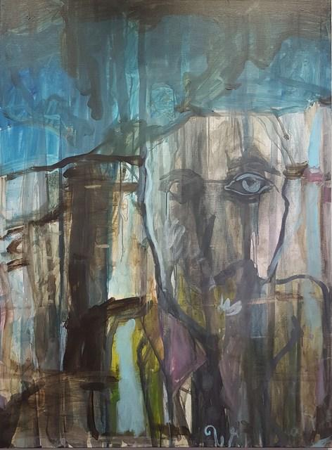 , 'Portrait II,' 2017, Nathalia Tsala Gallery