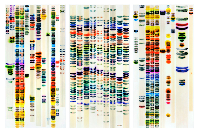 Jaq Chartier, 'Large chart (full spectrum)', 2015, Dolby Chadwick Gallery