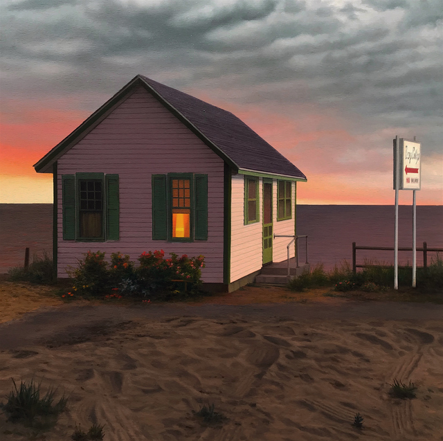 , 'Cabin at the Sea,' 2018, William Baczek Fine Arts