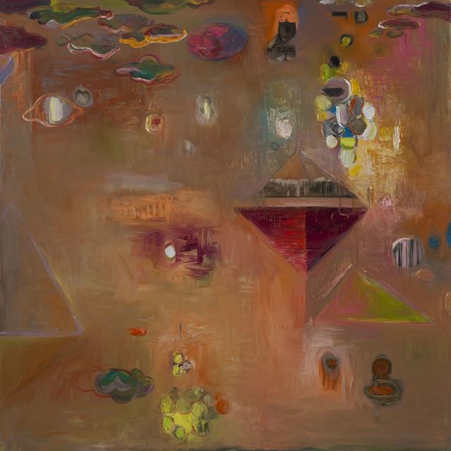 Bryan McFarlane, 'Untitled (Pyramid Series)', 2013, Painting, Oil on linen, Gallery NAGA