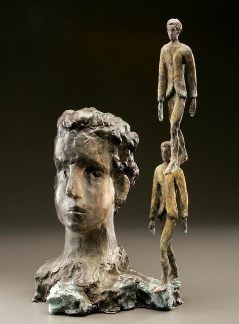 , 'Testa con passo solidale,' 2004, Cafmeyer Gallery