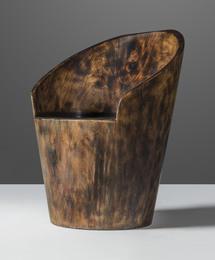 'Pilão', a carved chair