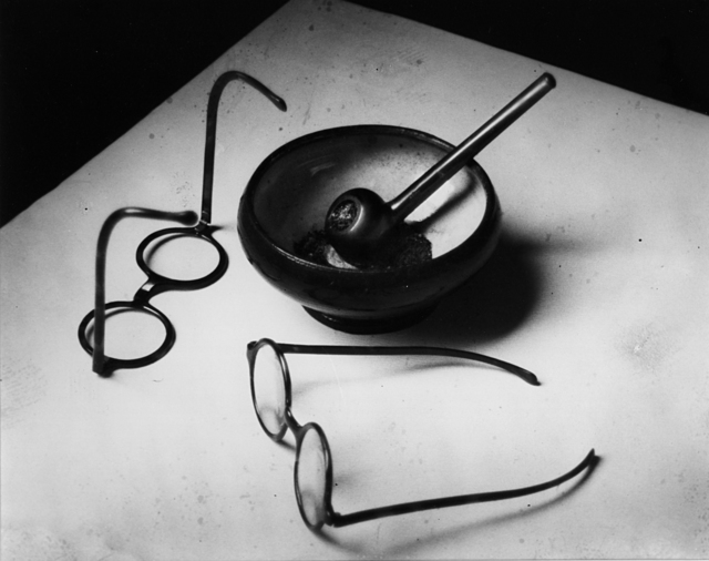 , 'Mondrian's Glasses and Pipe, Paris, France,' 1926, Robert Klein Gallery
