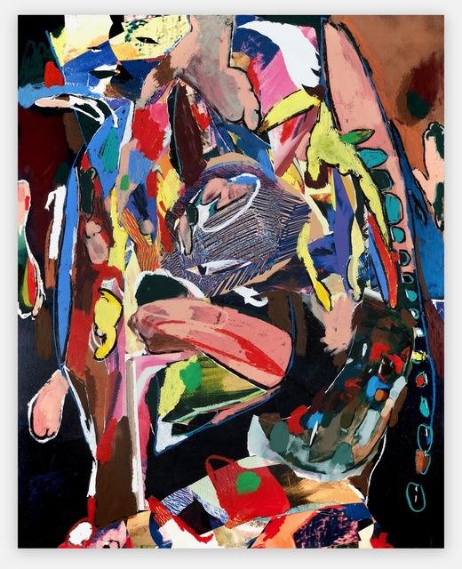 , 'Throw It Back,' 2018, Anat Ebgi