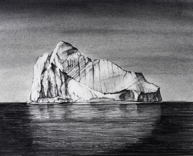 , 'Iceberg Drawing #1,' 2018, Carrie Haddad Gallery