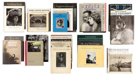 [PHOTOGRAPHIC LITERATURE] Reference library of approximately one hundred volumes assembled by Anne Horton