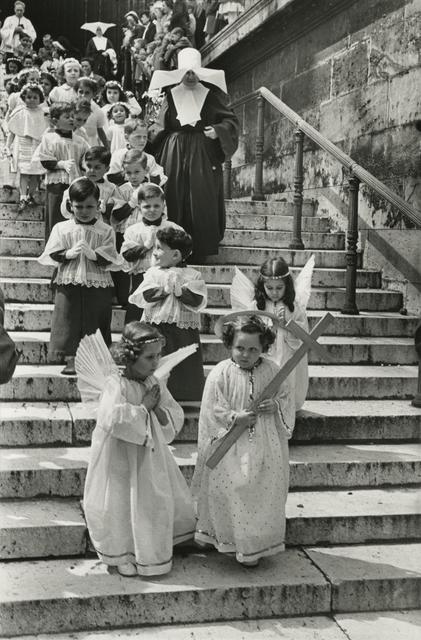 Henri Cartier-Bresson, 'Corpus Christi procession, Paris', 1951, Ostlicht. Gallery for Photography