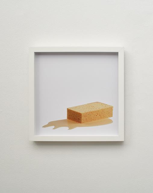 , 'sponge puddle,' 2015, Klowden Mann