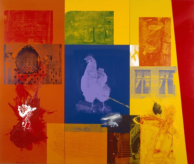 Robert Rauschenberg, 'Courtyard (Urban Bourbon)', 1989, Acrylic and enamel on enameled aluminum, Robert Rauschenberg Foundation